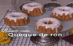Bundt Cake    Queque De Ron