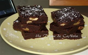 Brownie De Chocolate Sin Gluten  Y Canela