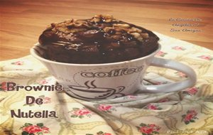 Brownie Mug De Nutella