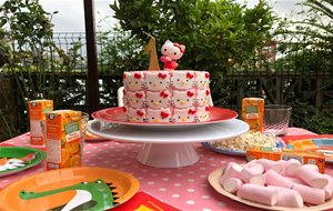 tarta Hello Kitty Sin Gluten