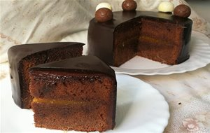 Tarta De Chocolate Tipo Sacher