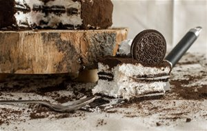 Tarta De Galletas Oreo Con 3 Ingredientes