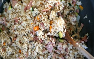 Arroz Nutritivo Con Anchoas