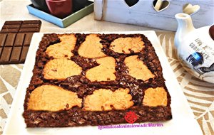 Brownie Con Galletas Dinosaurus