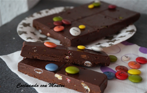 Turrón De Chocolate Con Lacasitos