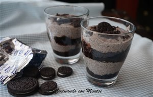 Vasitos Con Crema De Galletas Oreo