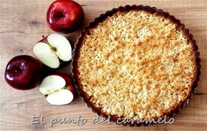 Apple Crumble Pie (crujiente De Manzanas)