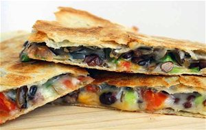 Quesadillas, Receta Tex-mex