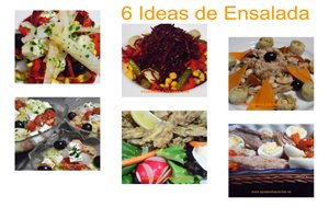 6 Ideas De Ensalada