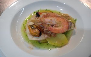 Suquet De Cabracho (scorpion Fish Stew With Potatoes)