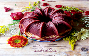 Bundt Red Velvet Y Cheesecake.