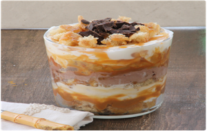 Trifle De Chocolate Y Caramelo