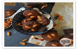 Cookies De Chocolate Y Mantequilla De Cacahuete / Peanut Butter And Chocolate Cookies