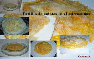 Tortilla de patatas en el microondas - Tortilla en el microondas ...