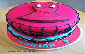 Tarta Spiderman (3)