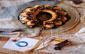 Chocoflan O Pastel Imposible De Brownie Y Flan