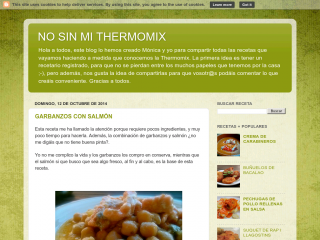 No Sin Mi Thermomix